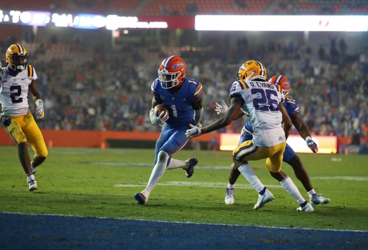 LSU @ Florida Highlights + Coaches and Players on the Mic