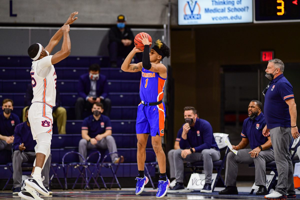 UF MBB: Tre Mann Selected 18th by Oklahoma City in NBA Draft